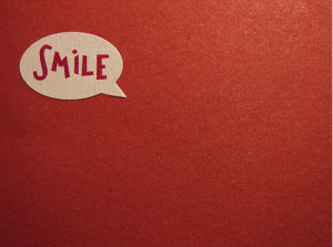 cute, happy, life, quotes, red, smile, text, typography, words