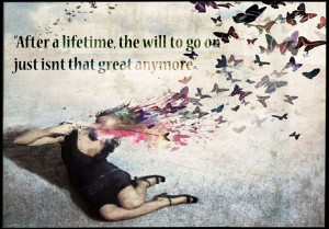 guns butterfly quotes suicide artwork shooting 1290x900 wallpaper ...