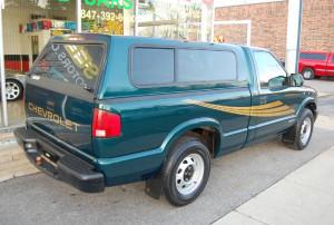 chevrolet s10 pickup truck