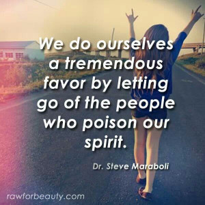 Get rid of toxic people