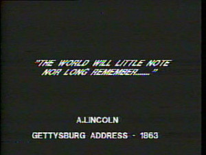 Lincoln Gettysburg Address Quotes