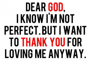 Myspace Graphics > God Quotes > thank God for loving me Graphic