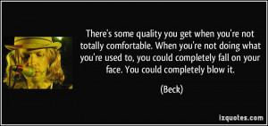 More Beck Quotes
