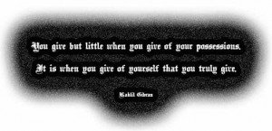 Kahlil Gibran,