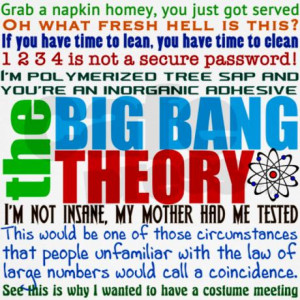 big_bang_quote_collage_canvas_lunch_bag.jpg?color=Khaki&height=460 ...