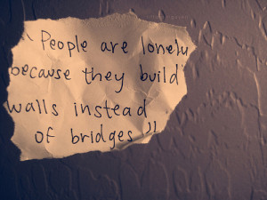 People Are Lonely Because…