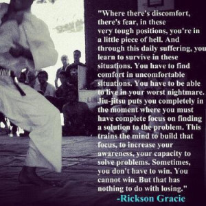 Rickson Gracie Quotes Words from rickson gracie