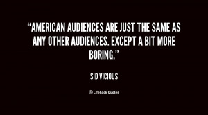 Sid Vicious Quotes