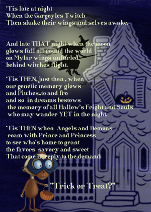 Dirty Halloween Poems Image