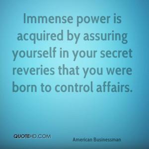 Andrew Carnegie Power Quotes