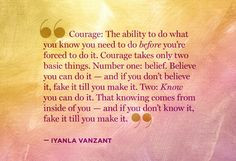 , Iyanla Courage, Comparing To Others Quotes, Quotes Iyanla Vanzant ...