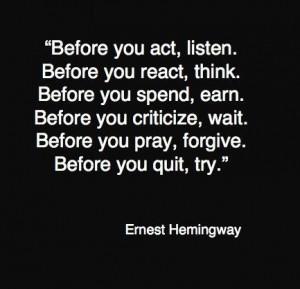 ernest hemingway 77751 433 4181 55 Inspiring Quotations That Will ...