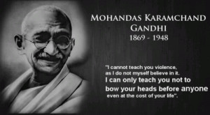 ... you not to bow your heads before anyone even at the cost of your life