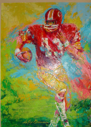 Leroy Neiman Tiger Painting