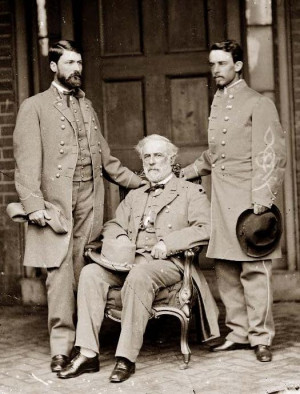 Robert E. Lee and his Son