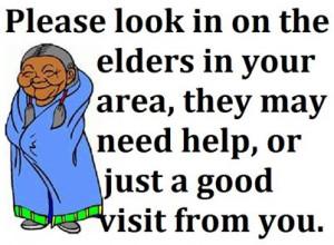 Treat Your Elders Well