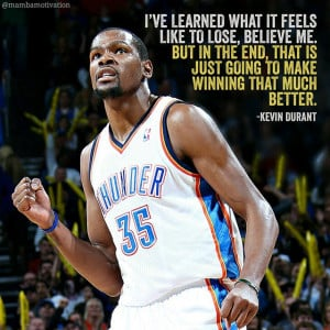 easymoneysniperQuote from NBA player Kevin Durant.