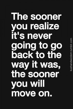 Move on....: Living In The Past Quotes, Dust Jackets, Life Lessons ...
