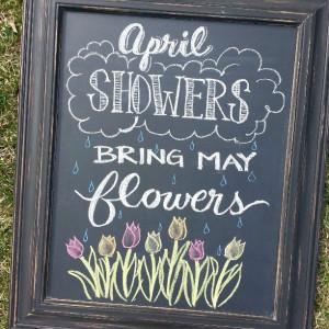 Go Back > Gallery For > Spring Chalkboard Ideas