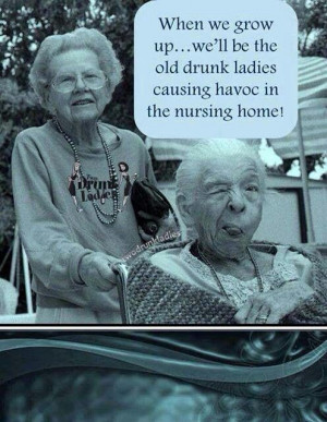 Two Old Ladies Best Friends