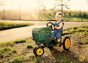 john deere kid6 John Deere Tractors and the Children Who Love Them (25 ...
