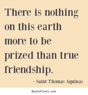saint thomas aquinas friendship quote canvas art design your own quote