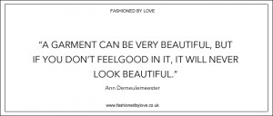 looking through Fashioned by Love archives I selected the best sayings ...