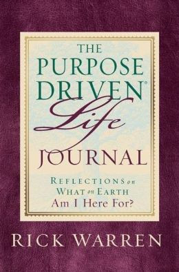 The Purpose Driven Life Journal by Rick Warren | 9780310803065 ...