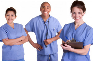 Medical Assistants At Work Medical assistant students pa
