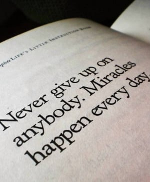JamesMalinchak Miracles Happen Every Day Quote Box