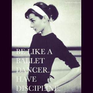quote ballet dancer audrey hepburn