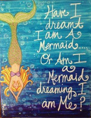 Mermaid Sayings Love mermaids