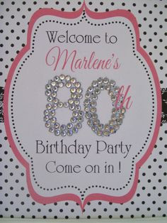 ... 80th birthday party more 80thbirthday parties idea 80th bday birthday