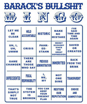 Rules for Bullshit Bingo: