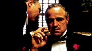 Marlon Brando como 'El padrino' (1972), de Francis Ford Coppola.