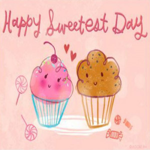 Happy Sweetest Day Postcard