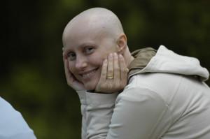 Bald Cancer Patient