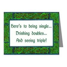 Cute Irish sayings Note Cards (Pk of 20)