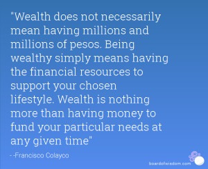 The Best Wealth Quotes
