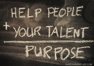 ... feisty about the confusion and stress surrounding the idea of purpose