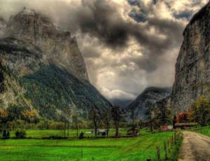 Lauterbrunnen Valley - Switzerland.