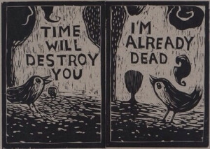 creepy weird horror crazy dark deep morbid bird nightmare insane evil ...
