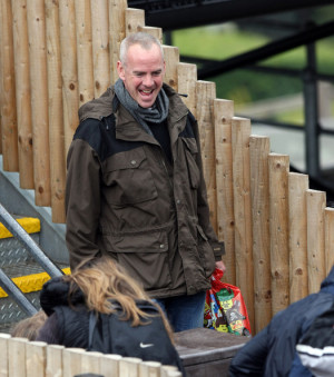 in this photo norman cook picture shows a fresh out of rehab norman