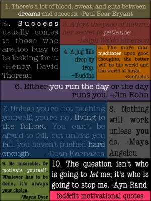Below is a list of the quotes for your copy and paste pleasure: