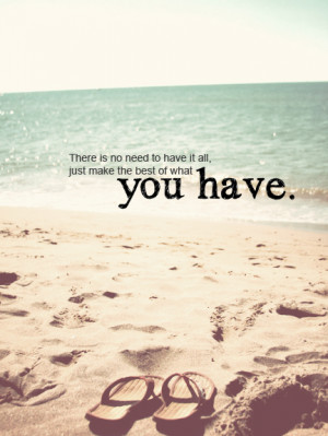 beach, flip flops, ocean, quote, text, typography