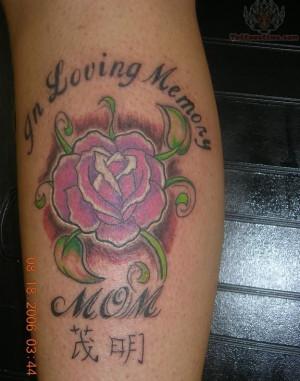 In Loving Memory Of Mom