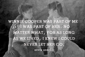 ... PRINTABLE | THE WONDER YEARS - KEVIN ARNOLD & WINNIE COOPER FOREVER