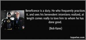 More Bob Kane Quotes