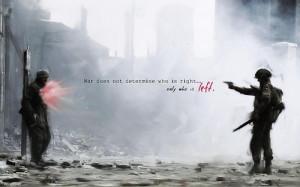 war quotes / 1440x900 wallpaper