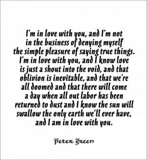im in love with you quotes and sayings